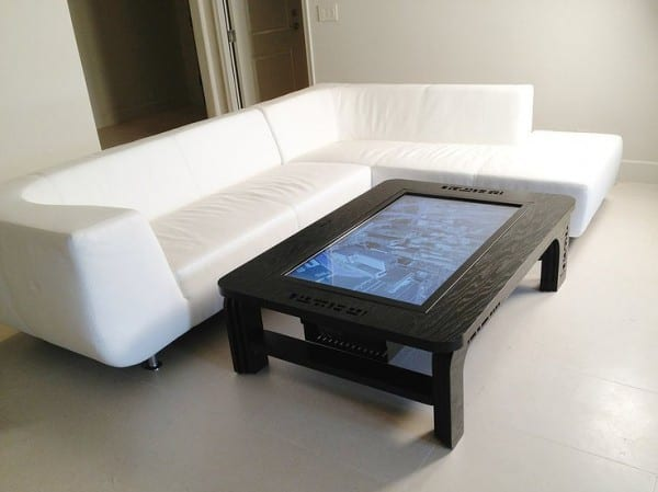 Multi-touch-table Mozayo