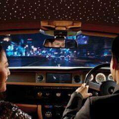 Customised Starry Ceiling for your Rolls-Royce Phantom