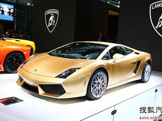 bad taste cars lamborghini gallardo lp560 4 gold edition. Black Bedroom Furniture Sets. Home Design Ideas