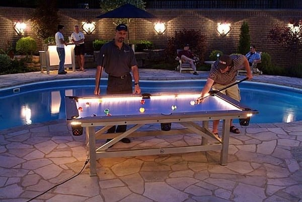 Illuminated Pool Table For Your Nights