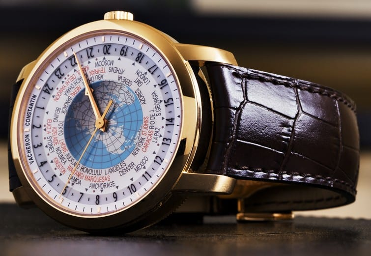 Vacheron Constantin created an exquisite world timer to add to the...