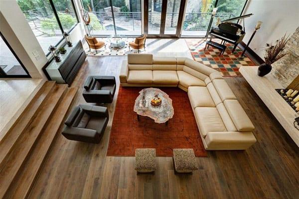 Leblanc cox residence an opulent estate for Leblanc custom homes