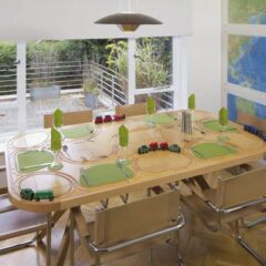 TrackTile Table: Entertain Your Dinner Party Guests