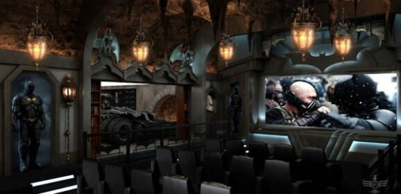 Dark Knight Home Theater is Fabulous