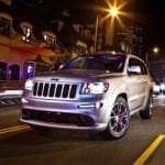 Jeep Grand Cherokee SRT Limited Edition in Bright White Exterior Color