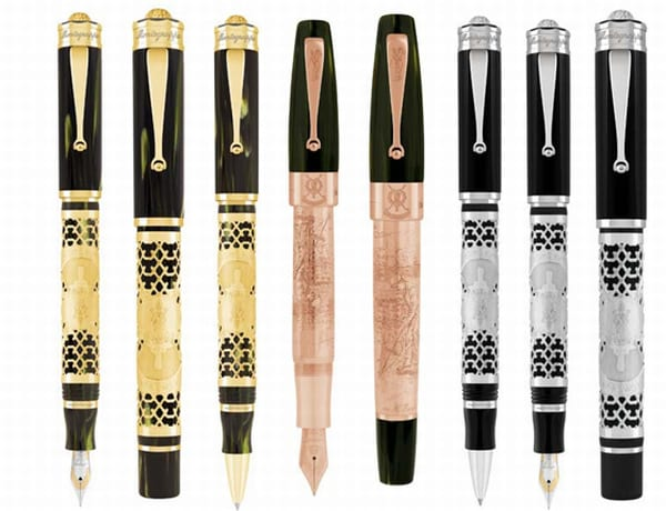 Montegrappa St Andrews 2012 Collection (1)