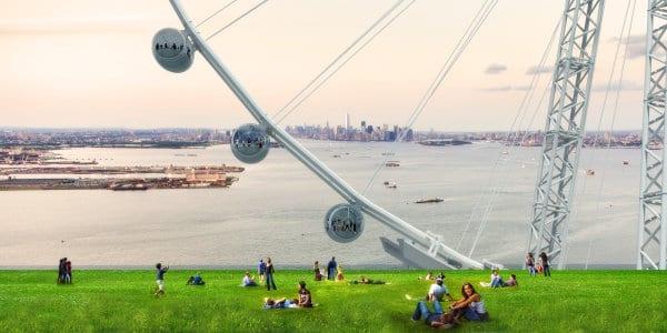 Ferris Wheel in New York (2)