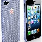 iPhone 5 case 18kt white gold and 2,830 sapphires worth $100,000