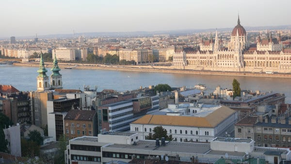 budapest view hill