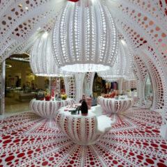 Louis Vuitton's Kusama Pop-Up at Selfridges: lots of dots