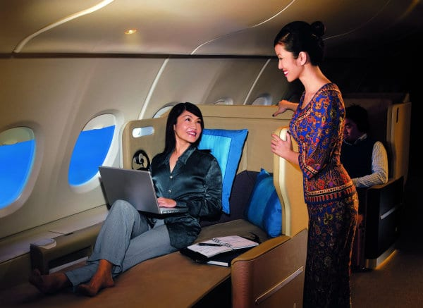 Singapore Airlines Wifi services