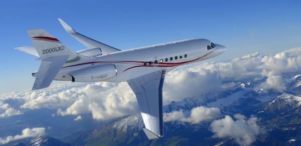 The Falcon 2000LXS