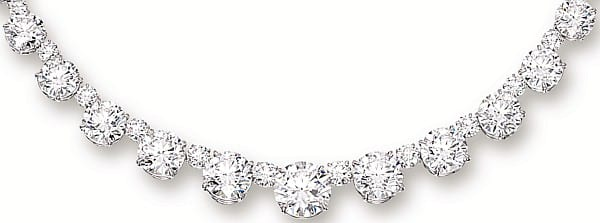 diamond hanebrink necklace jewelers graduated ctw bar product
