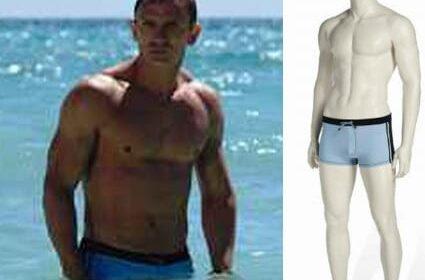 James Bond's swimming trunks sold for $71,876