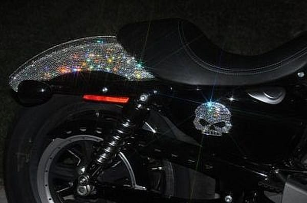swarovski bling on harley davidson (2)