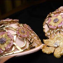 Victoria's Secret $2.5 million Floral Fantasy Bra