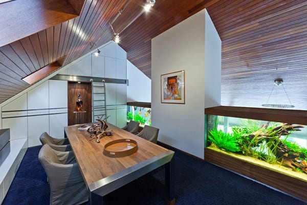 Villa with Aquarium