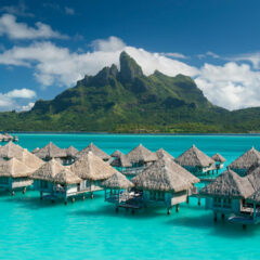 The St. Regis Bora Bora Resort is a first class resort