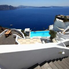 Andronis Luxury Suites: beautiful views over Santorini