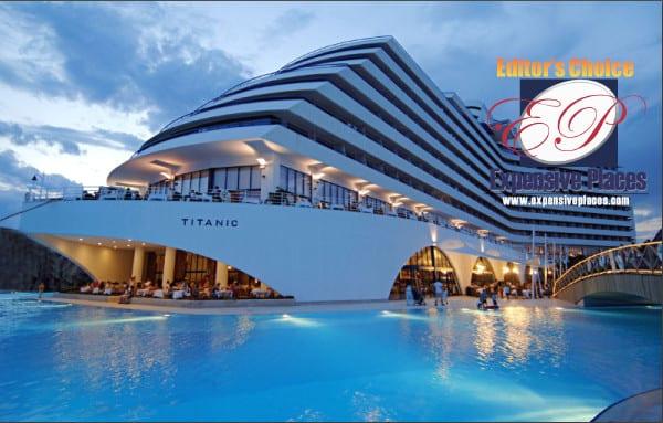 titanic beach lara award antalya