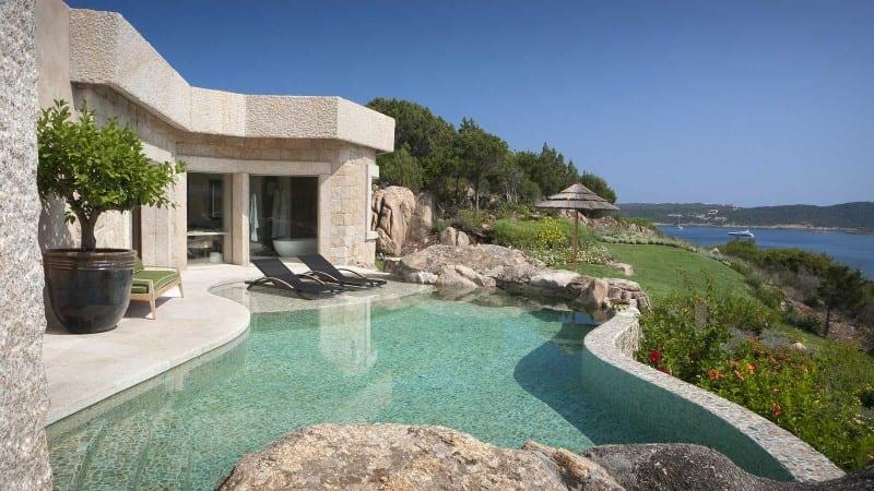 Hotel Pitrizza pool