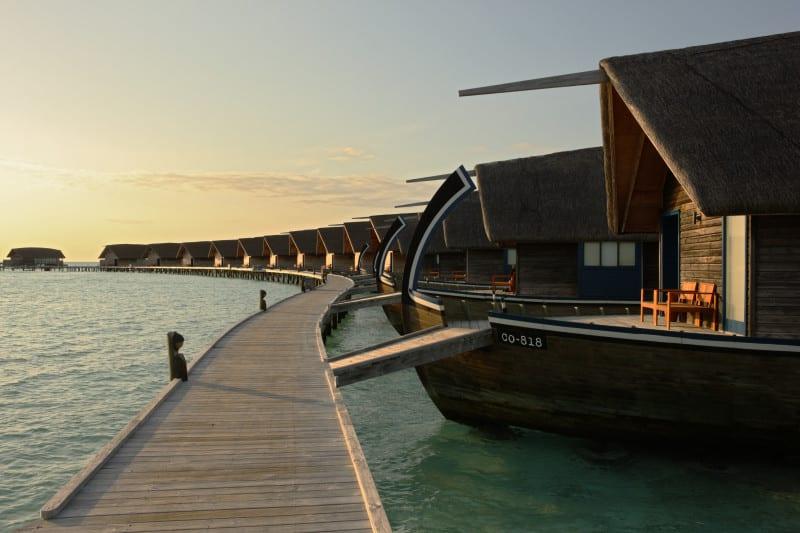 Maldives beutiful boat inside room