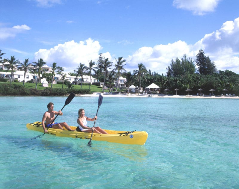 Cambridge Beaches Resort & Spa – Bermuda kayak