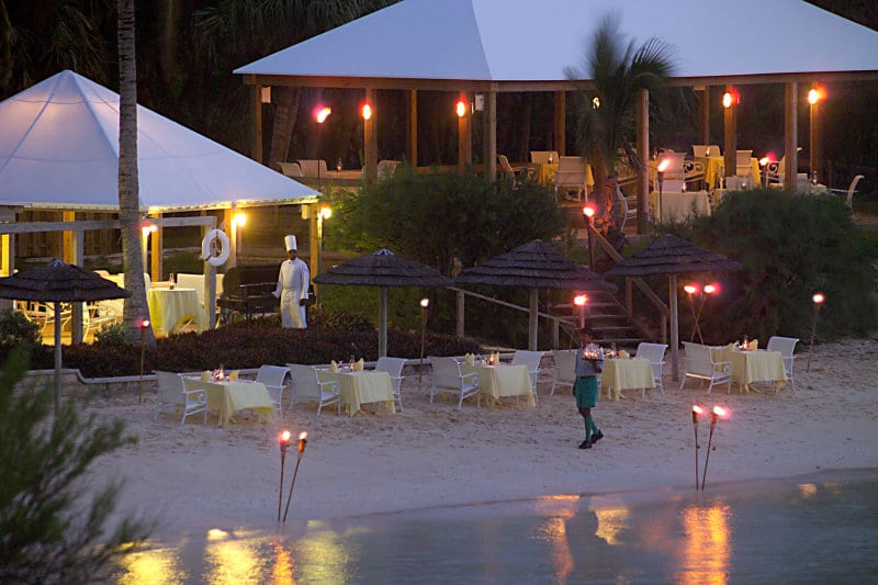 Cambridge Beaches Resort & Spa – Bermuda romantic diner