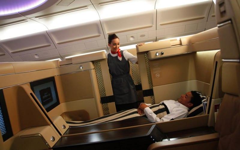 Etihad (Abu Dhabi) first class seats
