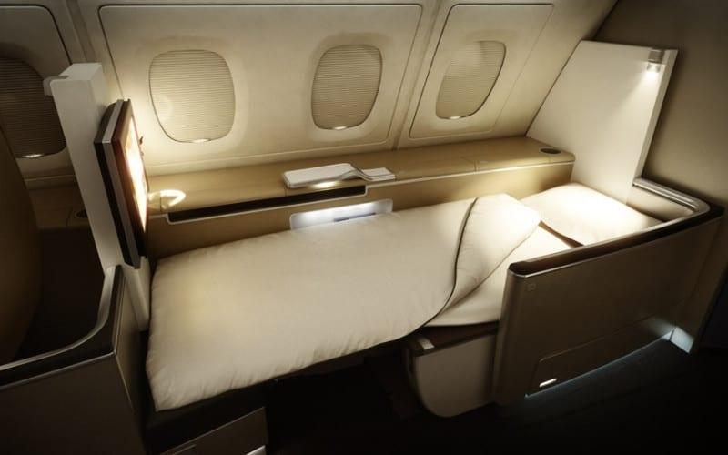 Lufthansa first class seats