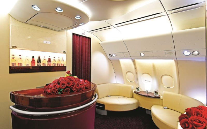 Qatar Airways first class seats
