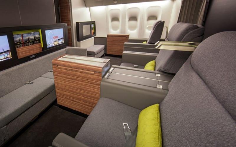 TAM first class seats
