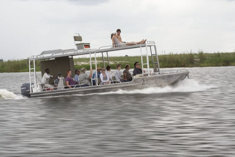 african river boat