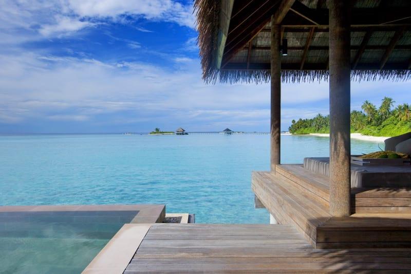 Maalifushi by COMO in Maldives view