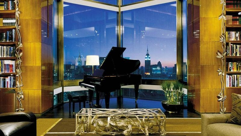 Ty Warner Penthouse Four Seasons Hotel Library