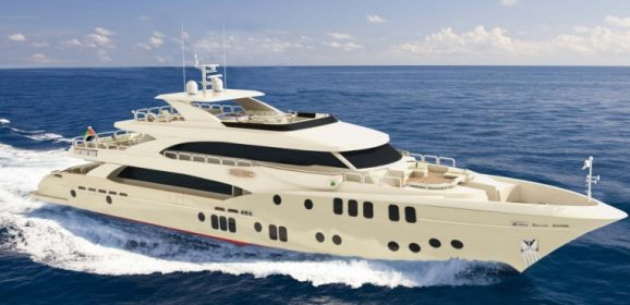 Majesty 155 at the Monaco Yacht Show