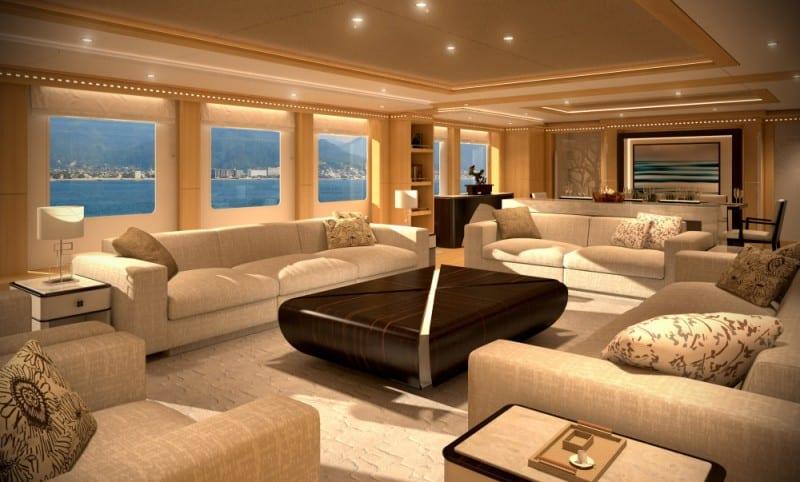 Gulf Craft Majesty 155 interior