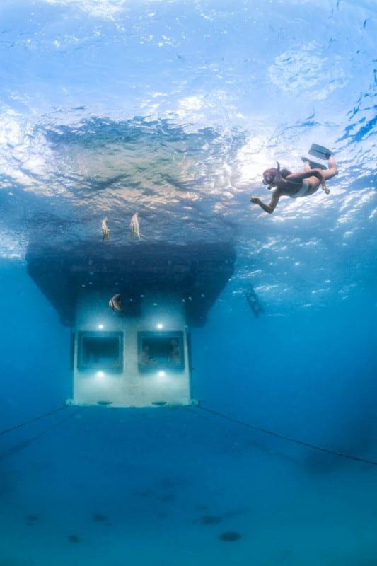 Manta Resort – Pemba Island underwater rooms