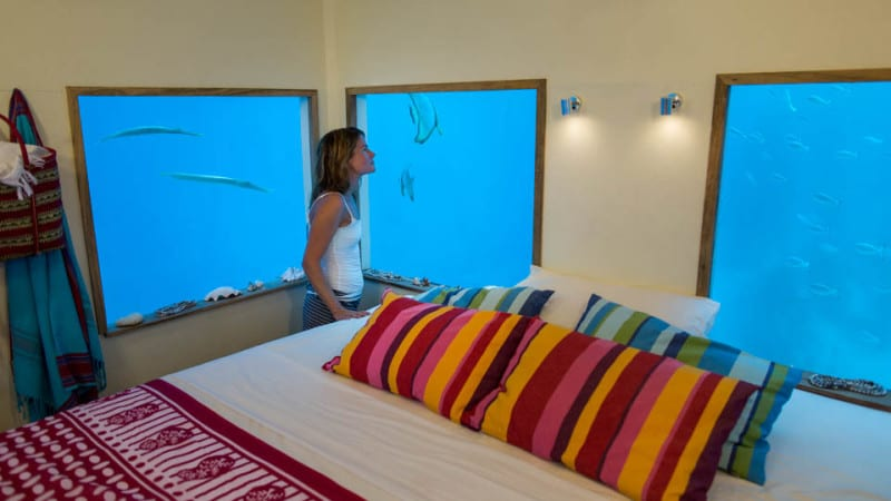 Manta Resort – Pemba Island underwater rooms