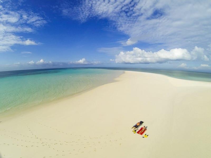 Manta Resort – Pemba Island beach