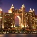 Atlantis is the flagship resort on The Palm, Dubai