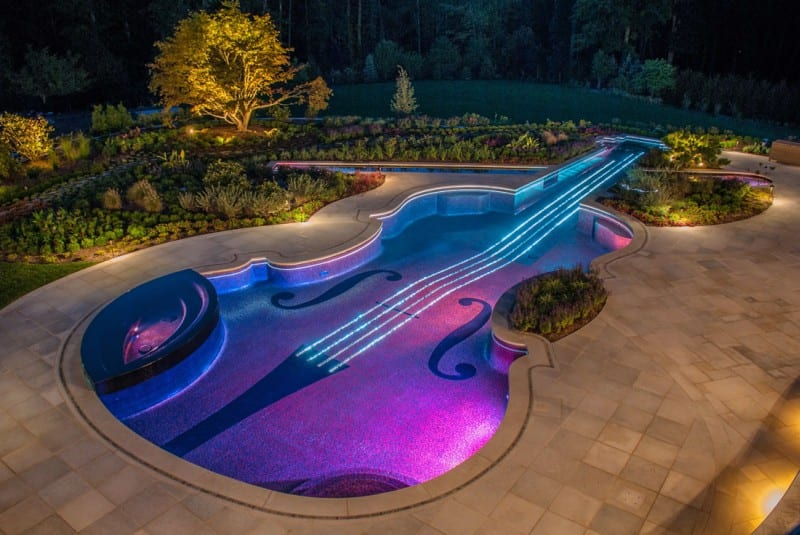 beautiful amazing pool