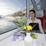 Glacier Express inside photo