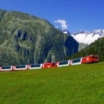 Glacier Express outside photo