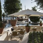 Regent Porto Montenegro Italian garden