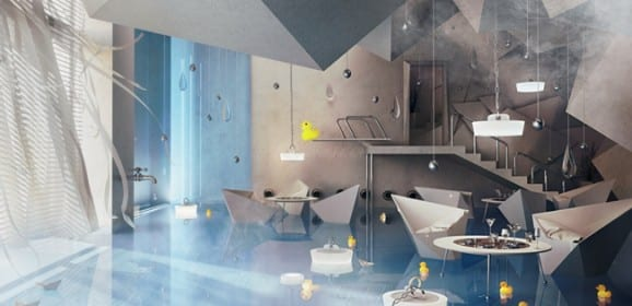 Bathroom Restaurant Design