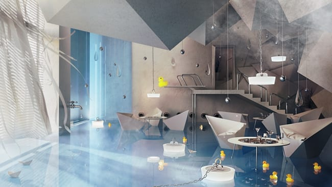 Karina Wiciak Bathroom Restaurant Design