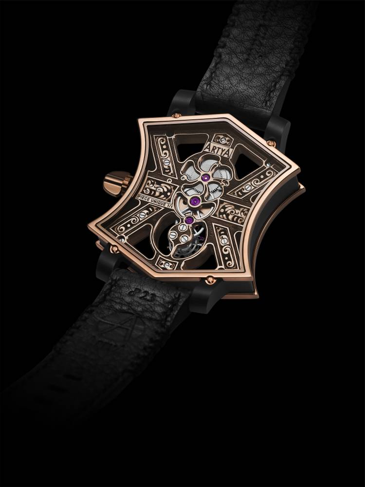 ArtyA Cumbere tourbillon Back
