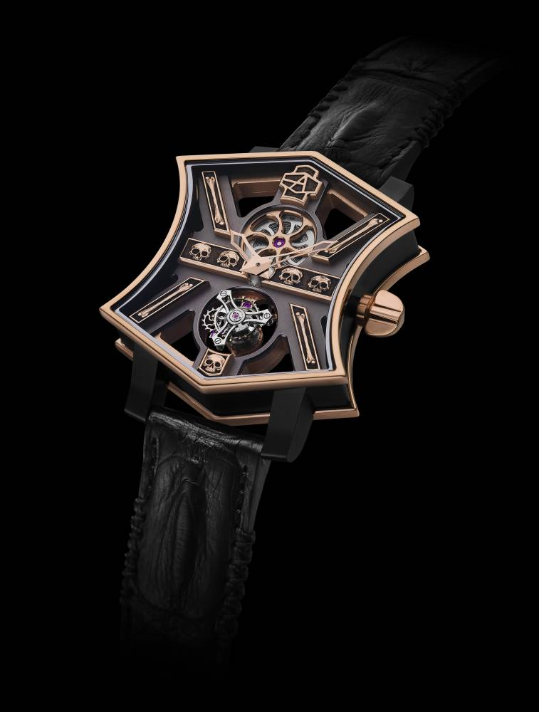 ArtyA Cumbere tourbillon face