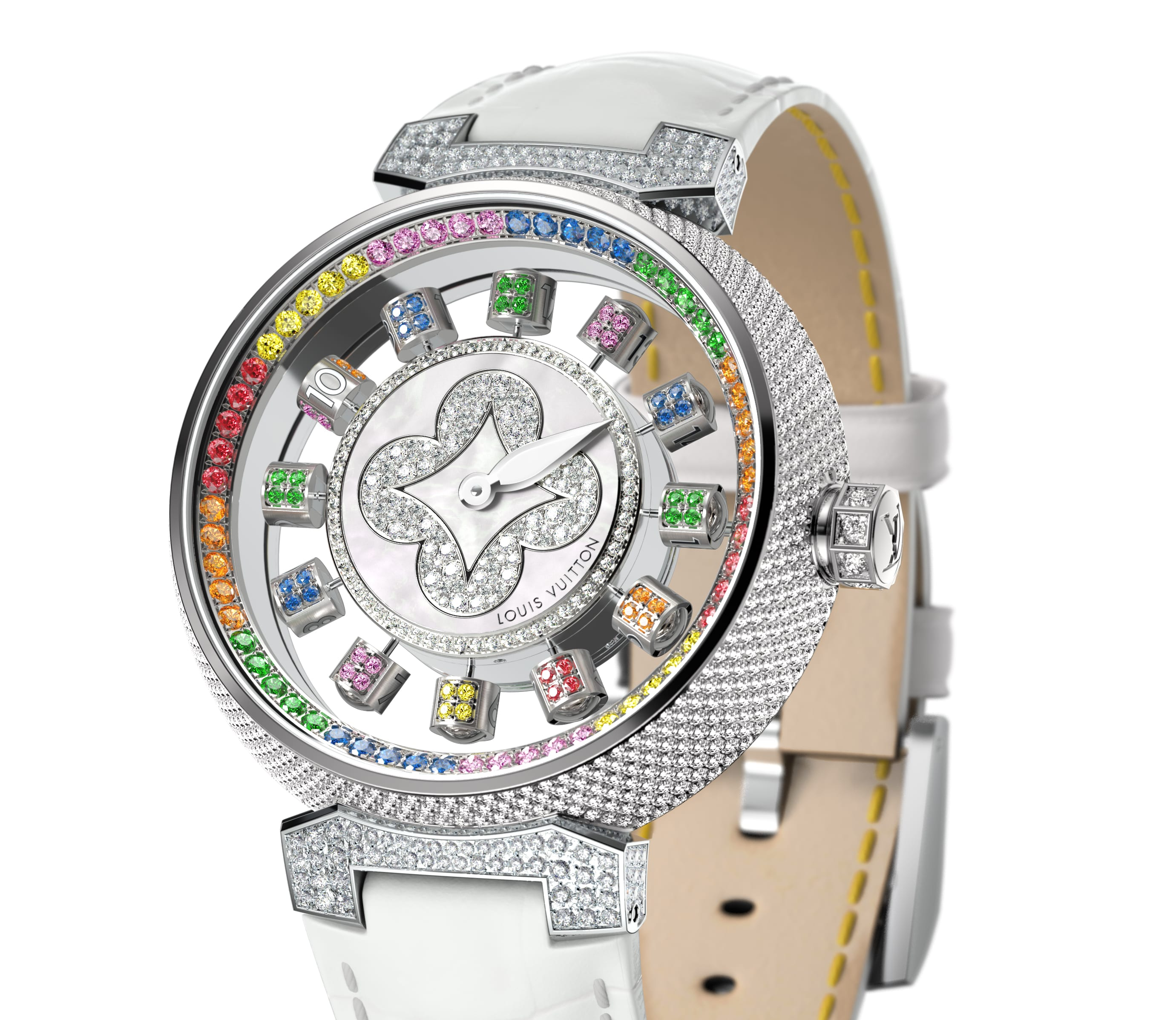 Louis Vuitton Tambour Spin Time Air Watch Collection